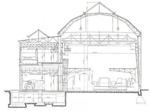 Aeg turbine factory data photos plans wikiarquitectura for Peter behrens aeg turbine factory