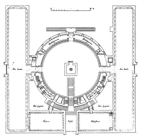 Stockholm public library data photos plans for Planta arquitectonica biblioteca