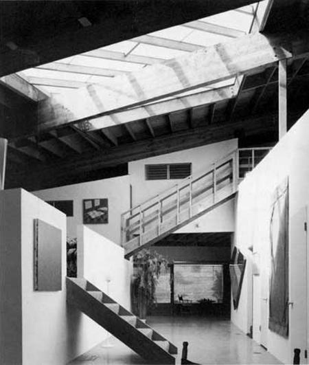 white home studio davis studio and residence data photos plans wikiarquitectura