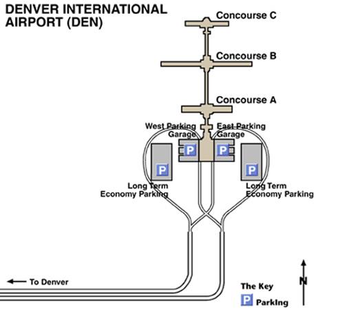 Denver Airport Den: Aeropuerto Internacinal De Denver
