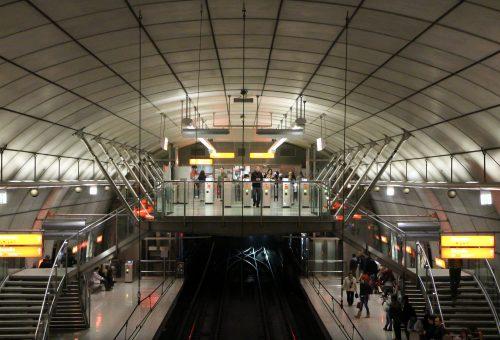 Metro de bilbao ficha fotos y planos wikiarquitectura for Oficinas metro bilbao