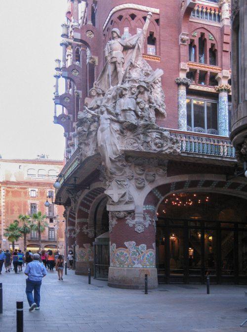 Resultado de imagen de palau de la musica catalana asientos