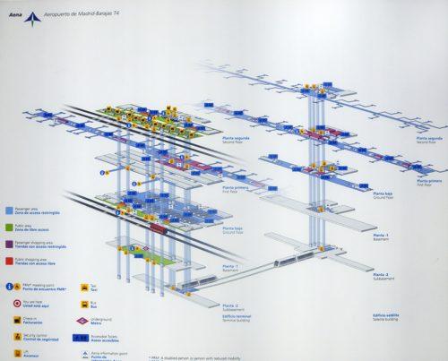Mapa Aeropuerto Barajas T4.Barajas T4 Data Photos Plans Wikiarquitectura