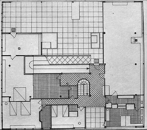 villa savoye data photos plans wikiarquitectura. Black Bedroom Furniture Sets. Home Design Ideas