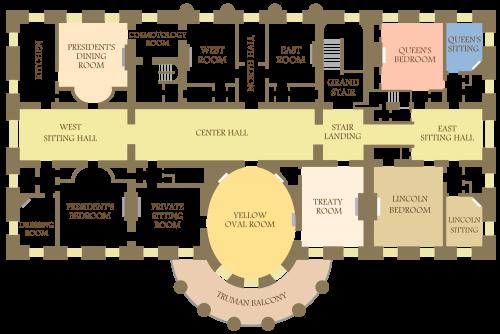 plan maison blanche